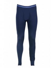 Leggings met gulp - exclusieve merinowol donkerblauw