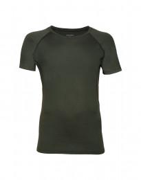 Merinos t-shirt voor heren groen