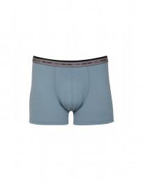Merinos boxershort - exclusieve merinowol mineraalblauw