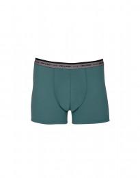 Merinos boxershort - exclusieve merinowol groen-blauw