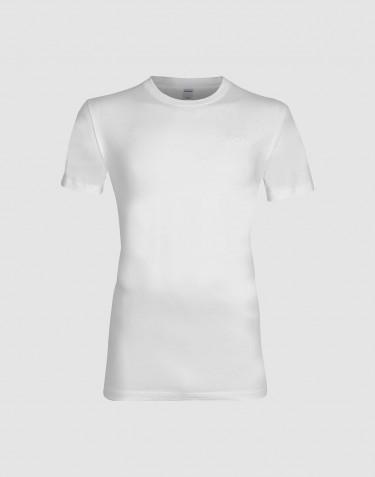 Katoenen T-shirt voor mannen wit