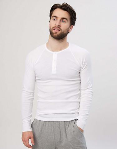 Premium Classic - katoenen shirt voor heren wit