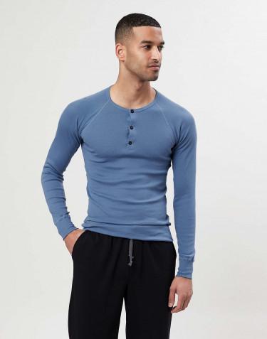 Premium classic - katoenen shirt voor heren blauw