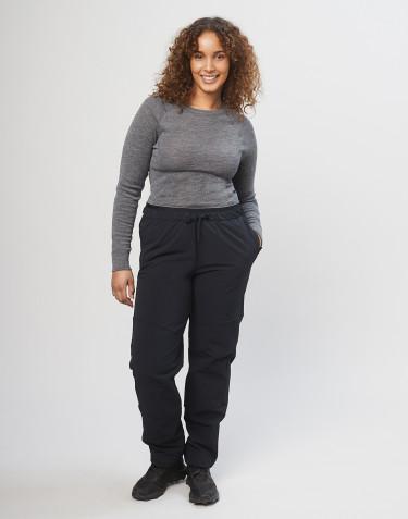 Dames softshell broek - zwart