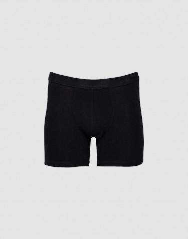 Heren boxershorts katoen zwart
