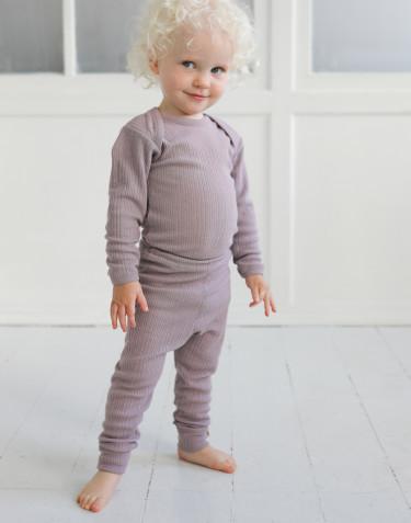 Merino wollen legging voor baby's