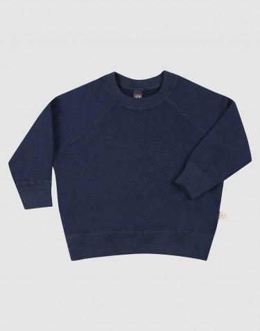 Wollen terry sweatshirt voor baby's