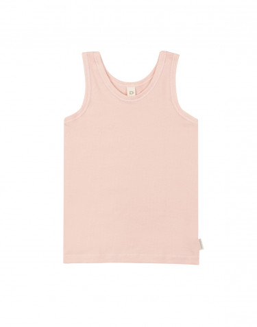 Bio katoenen onderhemd voor kinderen oudroze