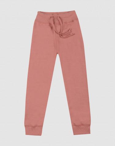 Kinderbroek van terry donker roze