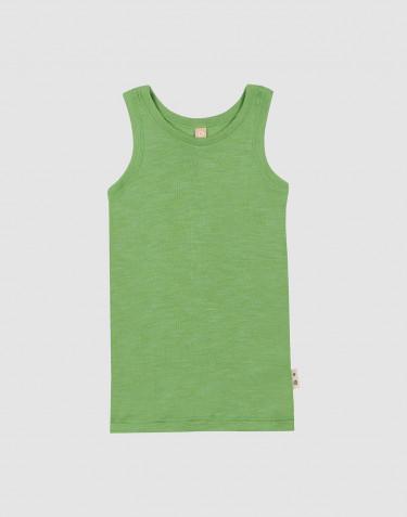 Merino wollen/zijden hemd voor kinderen