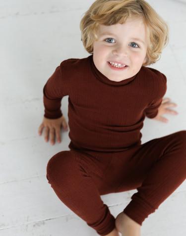 Merino wollen legging voor kinderen