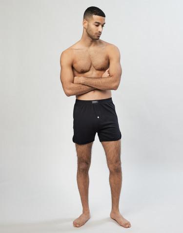 Boxershorts voor heren zwart