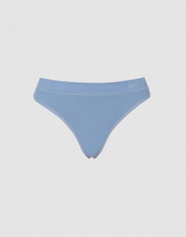 Dilling dames string van katoen blauw