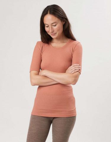 T-shirt van merino wol voor dames