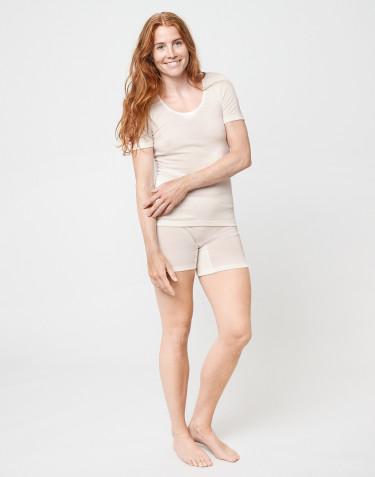 Merinos shorts voor dames natuur