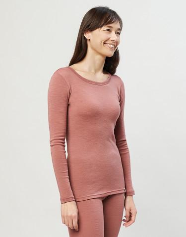 Damestrui - 100% biologisch merino wol Roze