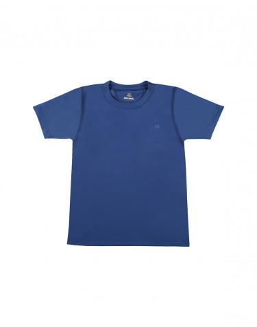 Kinder T-Shirt met UV-bescherming UPF 50+ Blauw