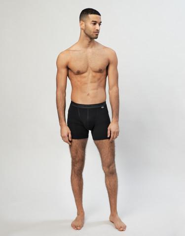 Merinos boxershorts voor heren zwart