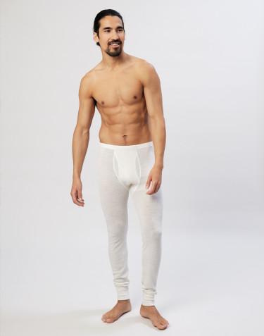 Merinos legging met gulp voor heren natuur
