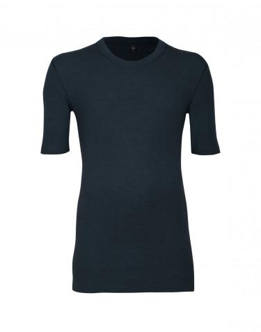 Geribd heren T-shirt midnachtsblauw