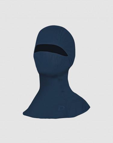 Bivakmuts voor heren - exclusieve biologische merino wol donkerblauw