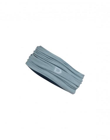 Heren colsjaal gemaakt van exclusief merinowol mineraalblauw