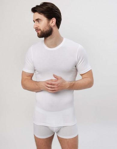 Premium classic - katoenen heren t-shirt wit