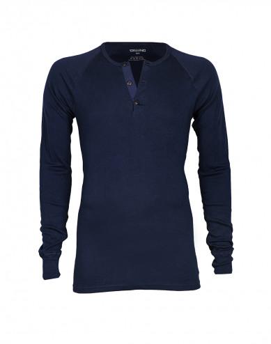 Premium Classic - katoenen shirt voor heren marineblauw