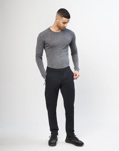Heren softshell broek - Zwart