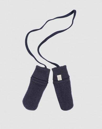 Handschoenen van wolfleece voor baby's blauw