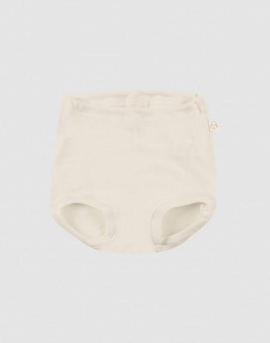 Merinos broekje voor baby natuur