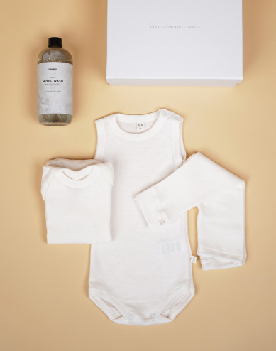 Babypakket crème maat 68