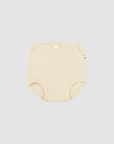Merino wollen/zijden onderbroek voor baby's