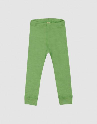 Merino wollen/zijden leggings voor baby's