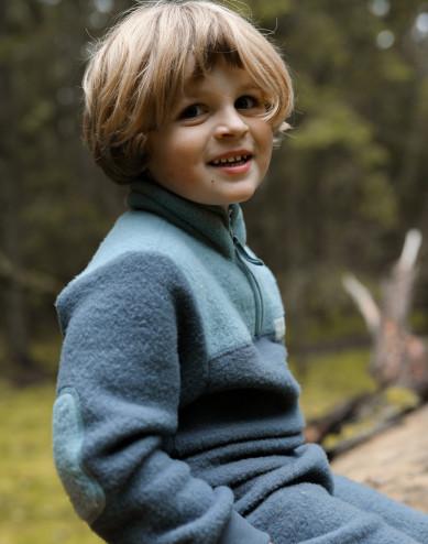 Fleecejack van merinowol voor kinderen