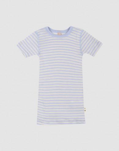 Merino wollen/zijden T-shirt voor kinderen