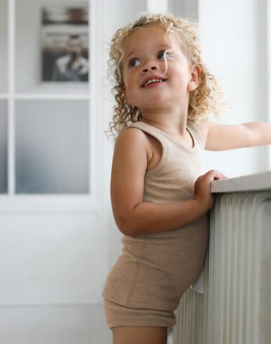 Kinder tanktop van merinowol