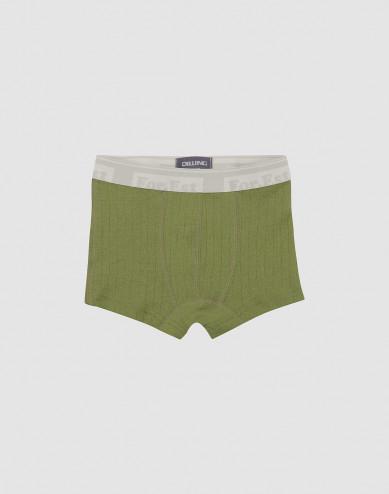 Merino wollen boxershorts voor kinderen