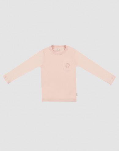 Pyjamashirt voor kinderen roze