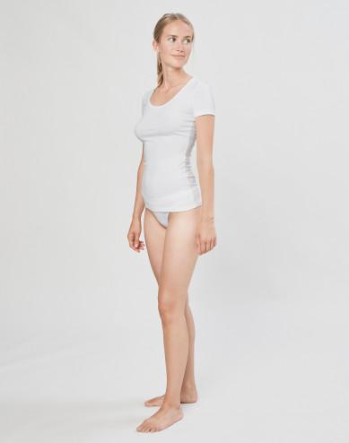 DILLING mini slip voor dames katoen wit
