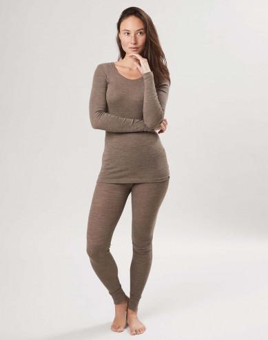 Dames merino wollen leggings