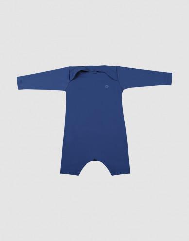 Baby romper met UV-bescherming UPF 50+ Blauw